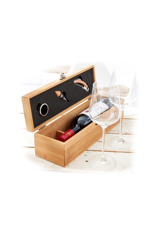 Drvena kutija za butelju